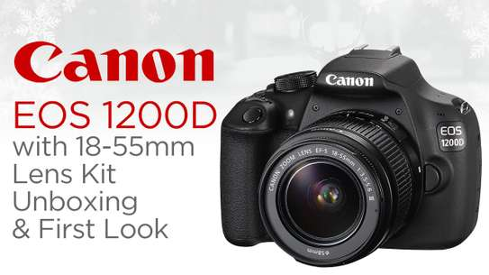 CANON EOS 1200D KIT (EF S18-55 IS II AND 55-250 MM IS II) DIGITAL SLR CAMERA image 1