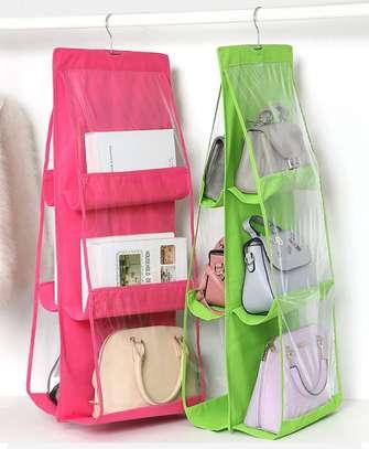 6 pocket handbag organiser image 2