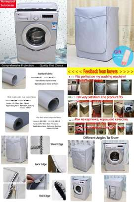 Front load washing machine cover image 4