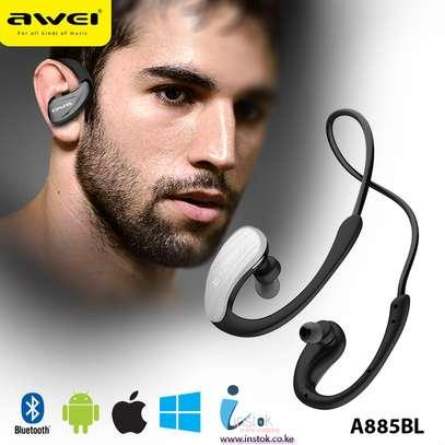 Awei A880BL - Wireless Headphone Sports Earphone Stereo Bluetooth image 2