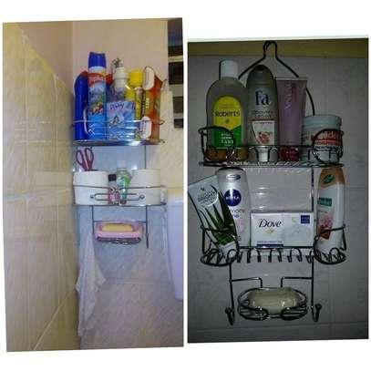 Bathroom Shower Caddy-Silver image 2