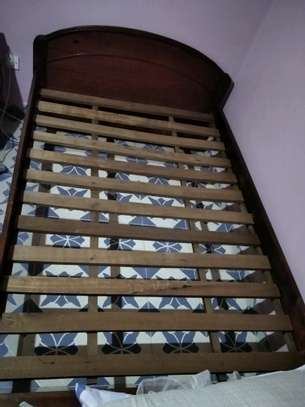 4*6 Bed and Mattress image 3