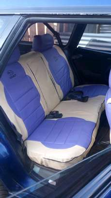 Well puffed car seat covers image 6