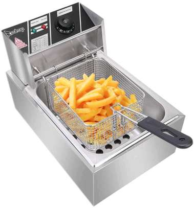 Single electric deep fryer image 1