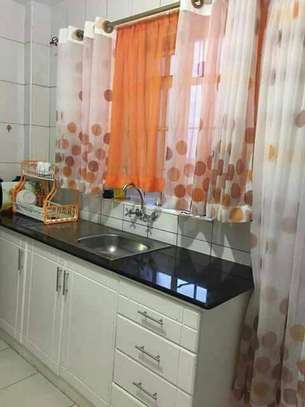 Designed kitchen curtains image 3