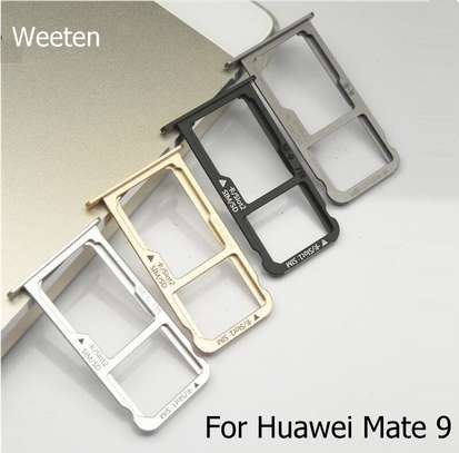 Replacement Dual/Single SIM Tray SD Card Reader for Huawei Mate 9 image 2