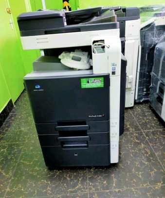 Konica minolta bizhub c360 colored photocopier image 1