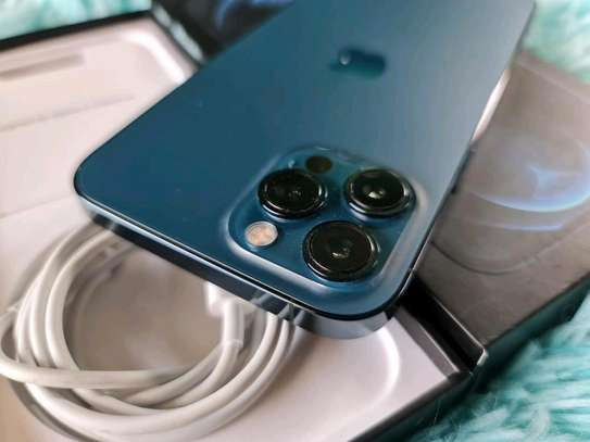 Apple Iphone 12 Pro Pacific Blue [ 512 Gigabytes ] image 1