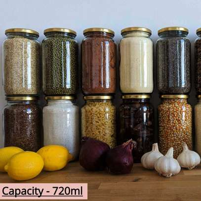 Multipurpose Storage Glass Jars, 28g/ml to 2kg/ml image 4
