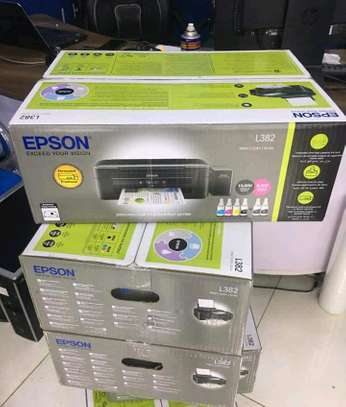 Epson l382 photocopier machine image 2