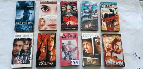 ORIGINAL USED DVDS MOVIES AND VHS MOVIES CASSETTES. image 6
