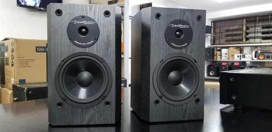 BIC America Venturi DV62si 2-Way Bookshelf Speakers, Pair image 1