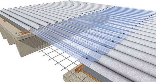 Clear Roofing sheet image 1