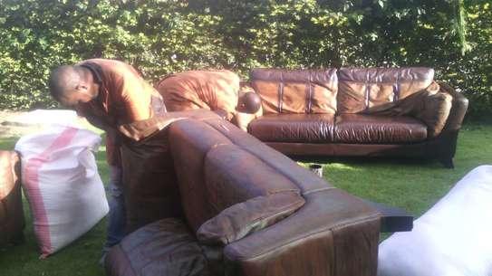 Leather Sofa Dye and Seat Repair image 4