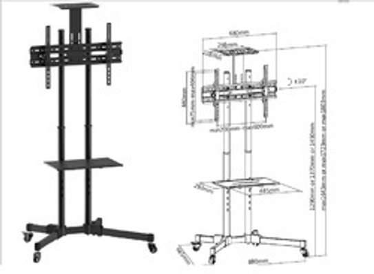 Office Boardroom Tv Stand