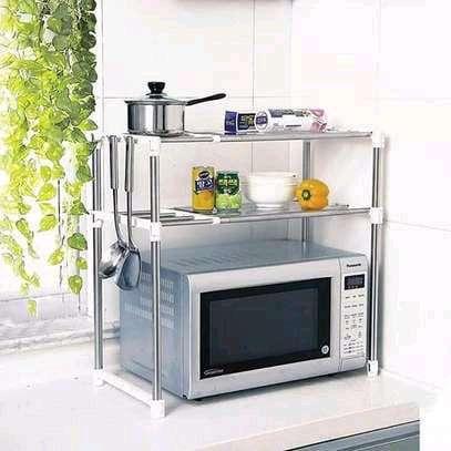 Generic Microwave stand organizer image 1