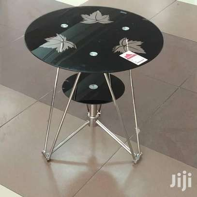 Round Glass Table image 1