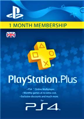 Playstation Plus (PS+) - 1 Month Subscription (UK) image 1
