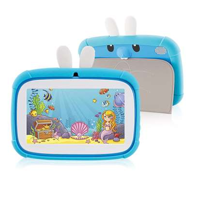 7 Inch Rabbit Kids Tablet Dual Camera with Learning Apps image 2