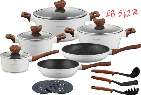 15pcs Cookware set image 3