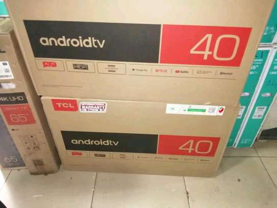 TCL 40INCH SMART android tv image 1