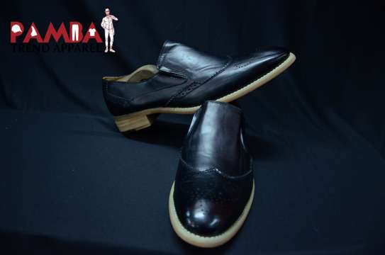 Black Official  Leather Shoes