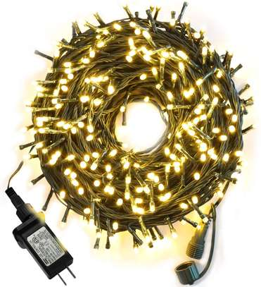 airy String Lights,Christmas Lights with 8 Lighting Modes,Mini String Lights Plug in for Indoor Outdoor image 1