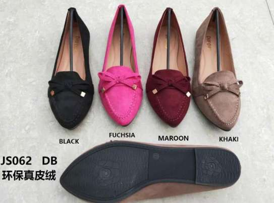 Pointed Bowknot Slip On shoes