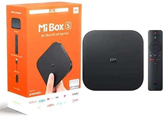 Xiaomi Mi Box S Android TV Remote Streaming Media Player image 6
