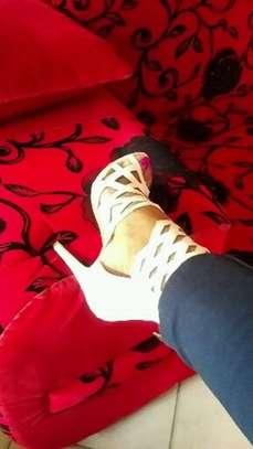 Gladiator Laser Cut Heels Made in UK image 3