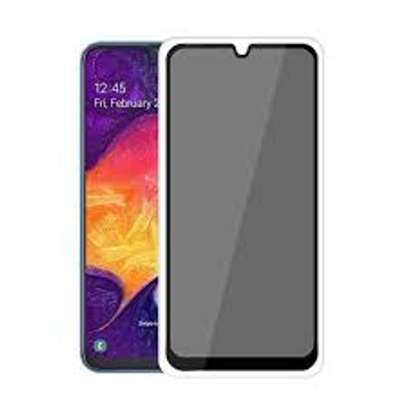 5D Privacy Glass protector for Samsung A70 A60 A50 A40 A30 A20 A10 image 1