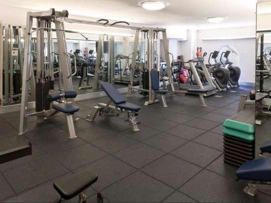 Gym rubber mats flooring. image 1