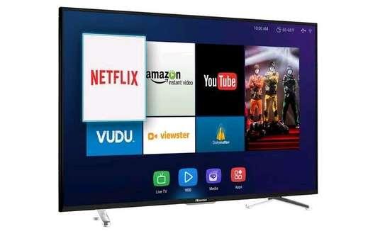 Hisense – 55″- 4K Ultra HD Smart Tv image 1
