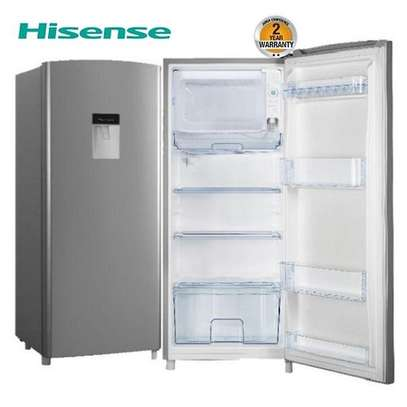 Hisense REF176DR Single Door Fridge 176 Litres - Silver image 1