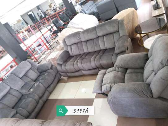 Oceanic 6seater recliner set image 1