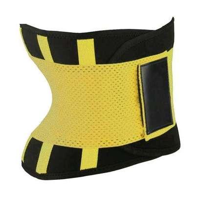 Generic Body Shapers Uni Waist Trimmer Tummy Slimming Belt Latex Waist Trainer For Men Women Postpartum Corset Shapewear( Blue) image 2