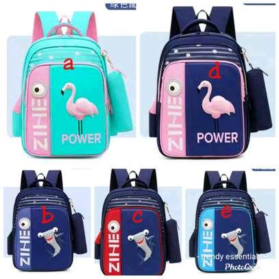 Cartoon themed backpack image 1
