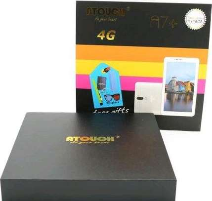 A-touch A7 Plus Kids Tablet – 16GB – 1GB RAM – 4G image 1