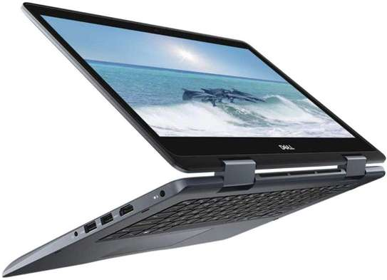 """Dell Inspiron 5481-3595GRY CONVERTIBLE 2-IN-1 Core™ i3-8145U 2.1GHz 128GB SSD 4GB 14"""" (1366x768) TOUCHSCREEN BT WIN10 Webcam GRAY image 2"""