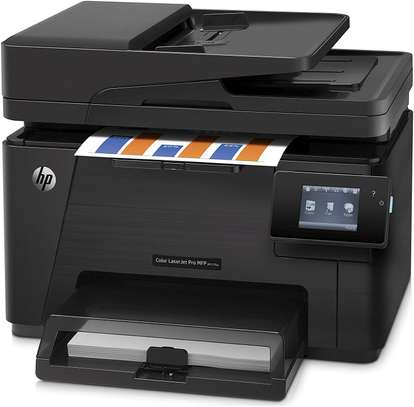 HP LaserJet Pro M177fw Color All-in-One Laser Printer image 3