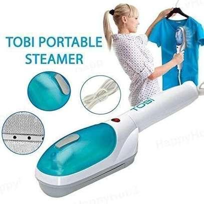 Tobi Portable, Travel, Hand Held Quality Garment, Clothes Steamer image 2
