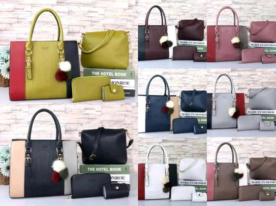 5 in 1 Leather Handbags image 7