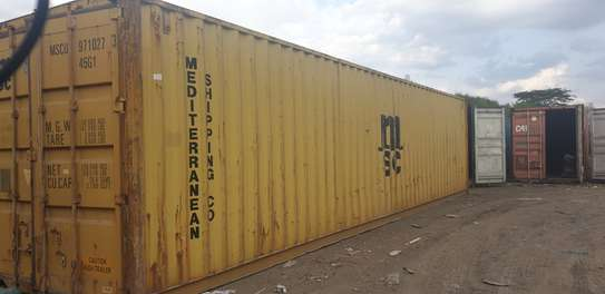 40ft Empty cargo containers for sale image 3