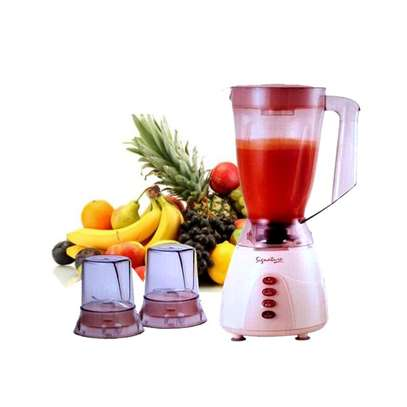 Signature 3 in 1 Blender with Grinder - 1.5 Litres - Classic Cream