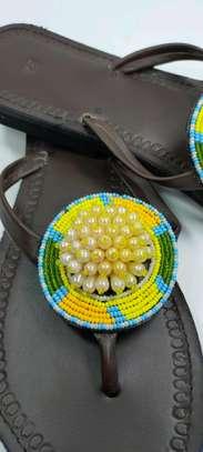 New designes Handcrafted ladies sandal , custom designed & made to last ?. image 3