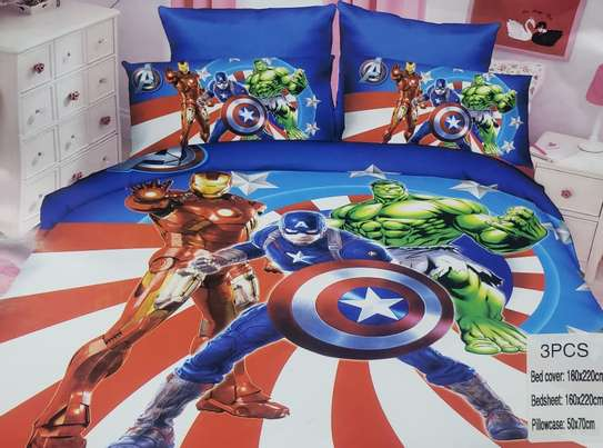 3pc Kids Cartoon Duvet cover image 8