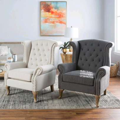 Wingback chair/modern one seater sofas/single seaters