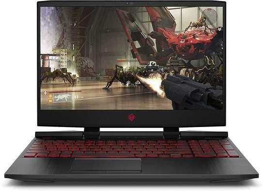 OMEN by HP 2018 15-inch Gaming Laptop, Intel i7-8750H Processor, NVIDIA GTX 1060 6 GB, 16 GB RAM,128 GB SSD, 1 TB HDD, Windows 10 (15-dc0030nr, Black) image 1