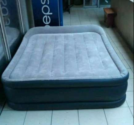 Intex inflatable double mattress image 1