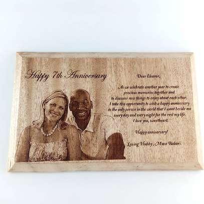 Customized wood plaque image 1